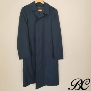Canadian Air Force Coat Blue Wool Military